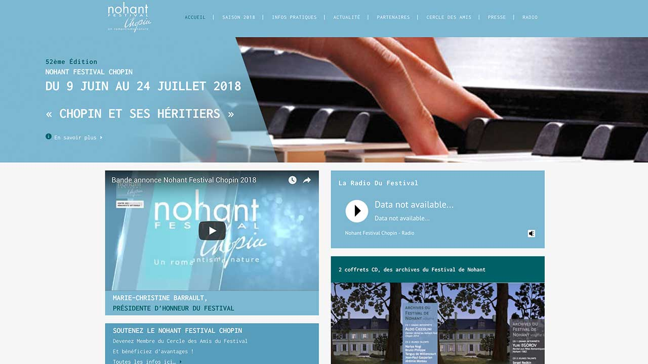 Nohant Festival Chopin
