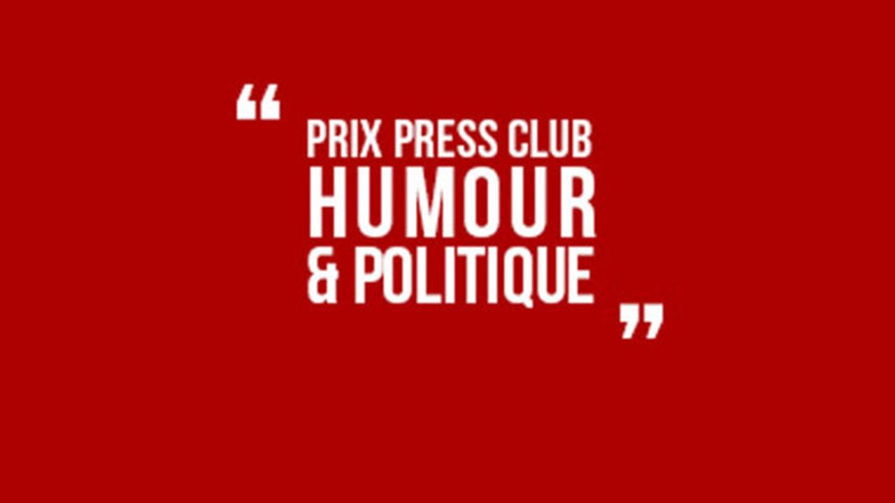 Prix Press Club humour et politique - Événement live